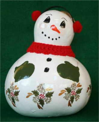 Christmas gourd example