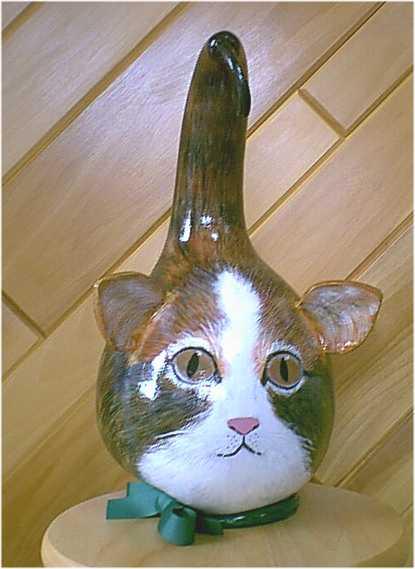 Cat Gourd Martha S Gourds